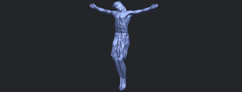 04_TDA0232_Jesus_iii_88mmB02.png Download free STL file Jesus 03 • 3D printable template, GeorgesNikkei
