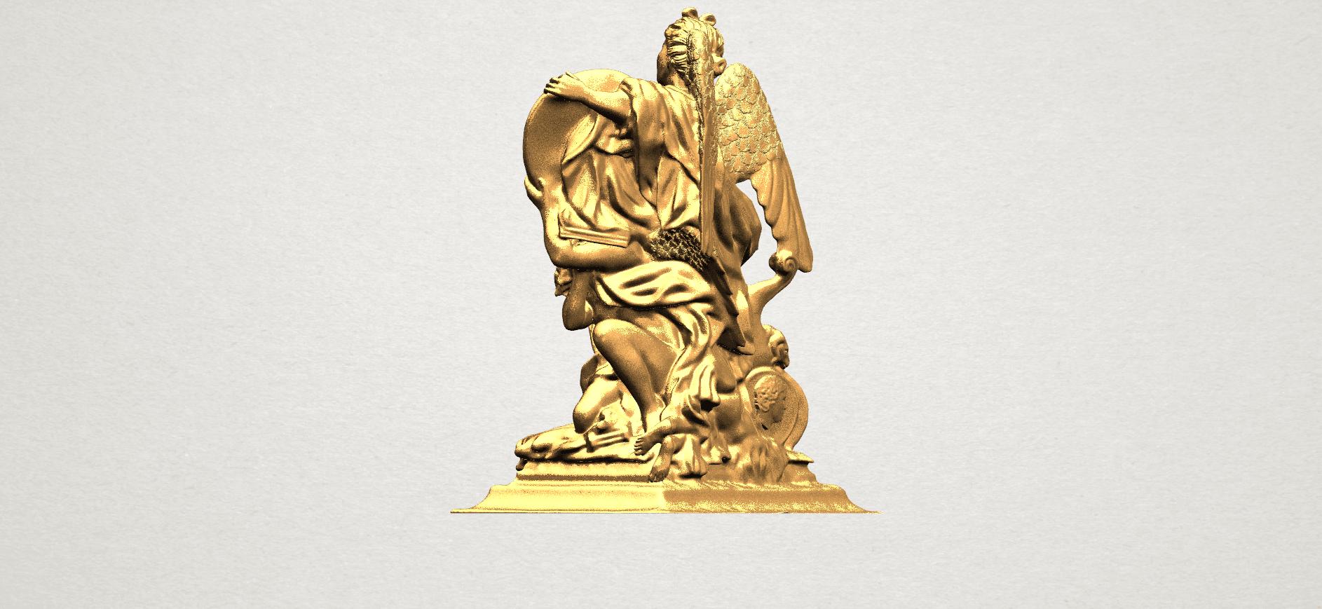 Angel (vi) - A04.png Télécharger fichier STL gratuit Ange 06 • Modèle pour imprimante 3D, GeorgesNikkei