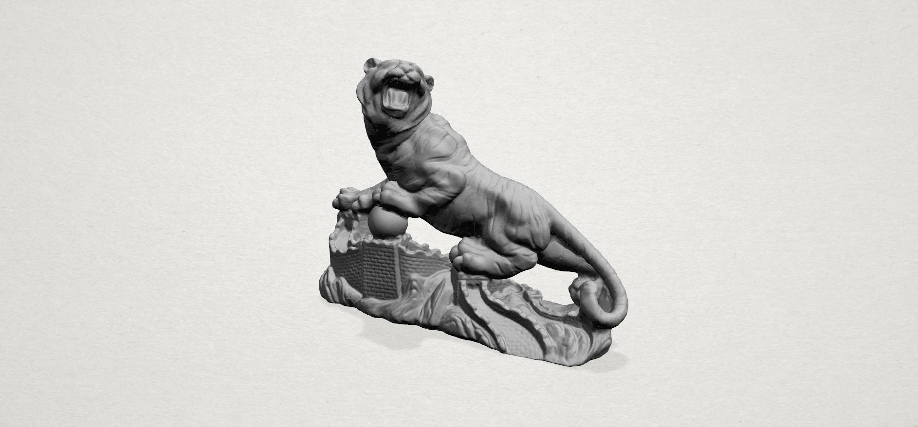 Siberian Tiger - C01.png Télécharger fichier STL gratuit Tigre de Sibérie • Objet imprimable en 3D, GeorgesNikkei