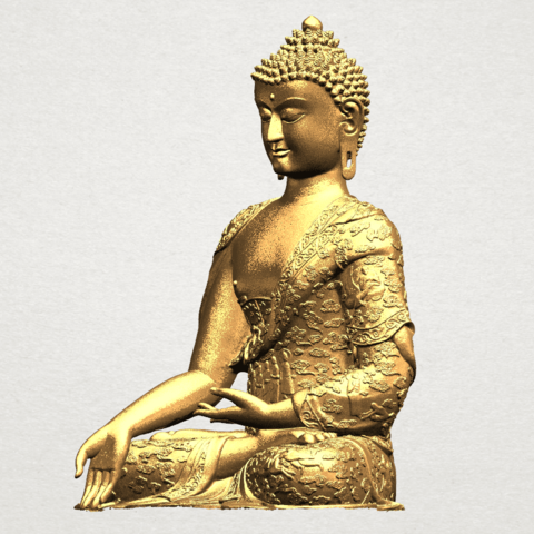 Thai Buddha(i) A02.png Download free STL file Thai Buddha (i) • Model to 3D print, GeorgesNikkei