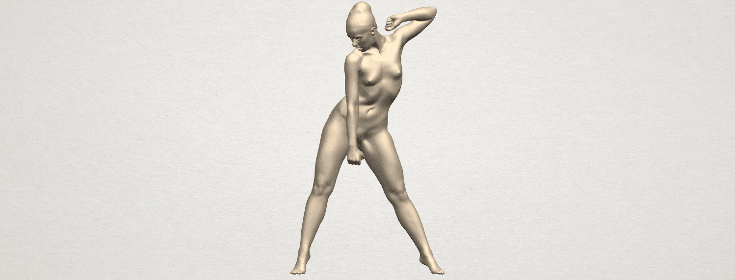 TDA0281 Naked Girl A08 01.png Download free STL file Naked Girl A08 • Template to 3D print, GeorgesNikkei