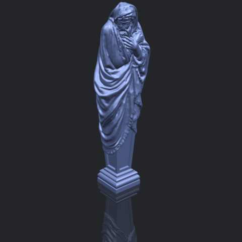 11_TDA0259_Sculpture_WinterB00-1.png Download free STL file Sculpture - Winter 01 • 3D printable object, GeorgesNikkei