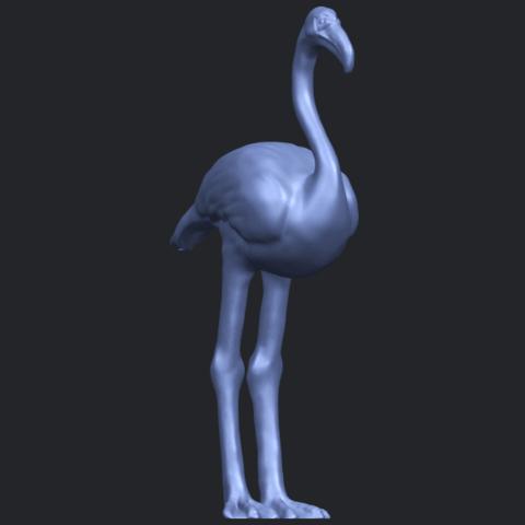 04_TDA0597_Flamingo_01B08.png Download free STL file Flamingo 01 • 3D printing model, GeorgesNikkei