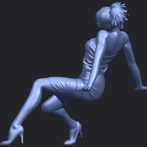 15_TDA0662_Naked_Girl_G10B04.png Download free STL file Naked Girl G10 • 3D printable template, GeorgesNikkei