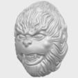 Download free 3D printer designs Monkey Head, GeorgesNikkei