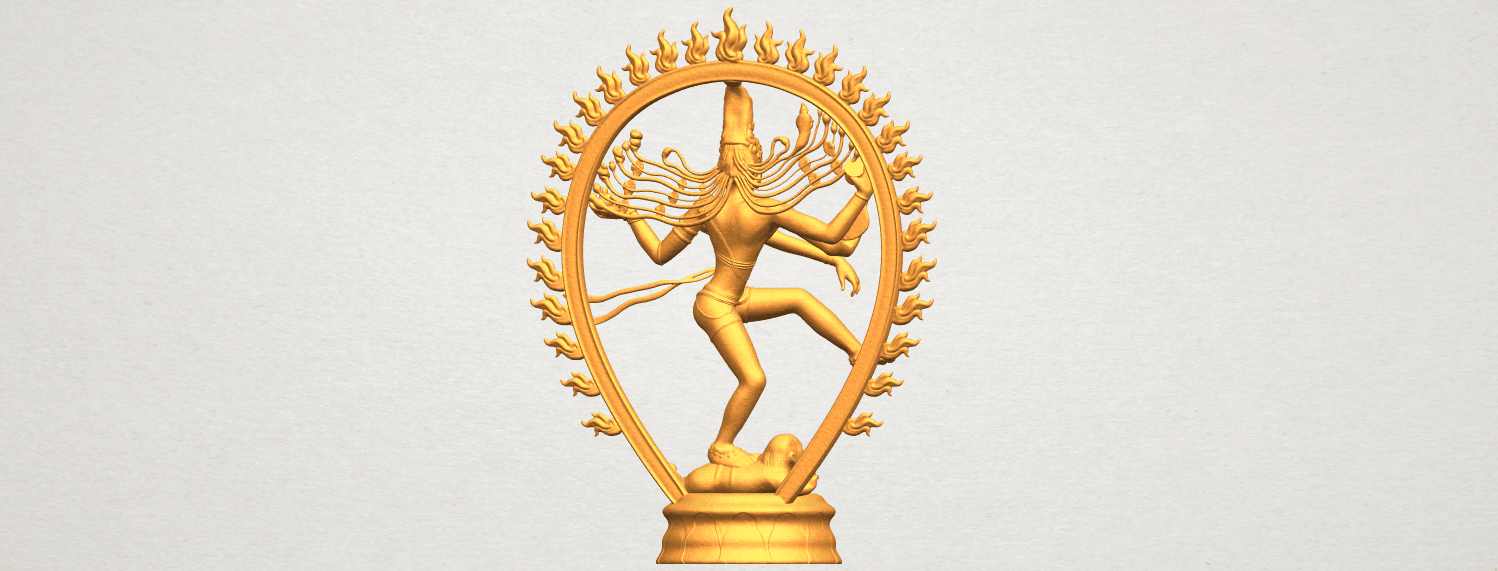 A07.png Download free STL file Shiva King • 3D printing template, GeorgesNikkei