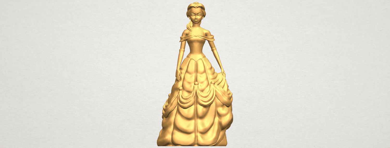 TDA0578 Princess Belle A01 ex1500.png Télécharger fichier STL gratuit Princesse Belle • Modèle pour impression 3D, GeorgesNikkei