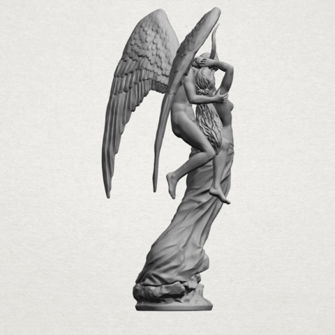 Angel and devil - A11.png Download free 3DS file Angel and devil • 3D print template, GeorgesNikkei
