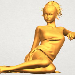 Download free 3D printing files Naked Girl F07, GeorgesNikkei