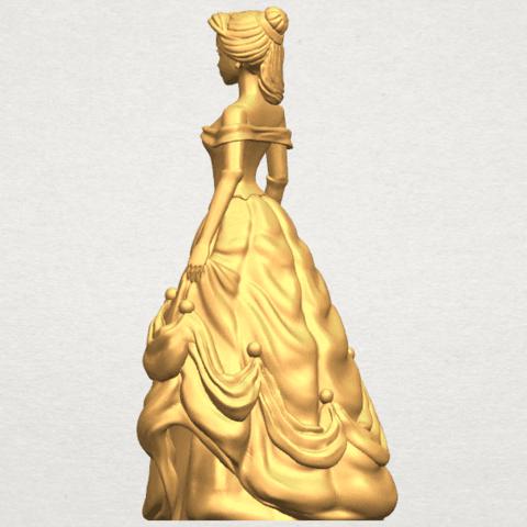 TDA0578 Princess Belle A04.png Télécharger fichier STL gratuit Princesse Belle • Modèle pour impression 3D, GeorgesNikkei
