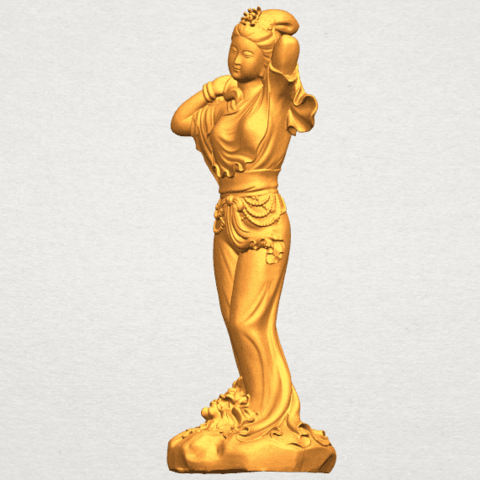 TDA0447 Fairy 02 A02.png Download free STL file Fairy 02 • 3D printing object, GeorgesNikkei