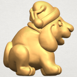 Free 3d printer files Dog Cartoon 04, GeorgesNikkei