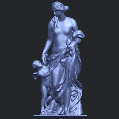 08_Mother_and_Child_v_80mmB01.png Download free STL file Mother and Child  05 • 3D printable model, GeorgesNikkei