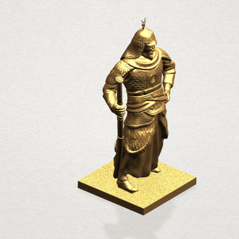 Age of Empire - warrior -C09.png Download free STL file Age of Empire - warrio • 3D print design, GeorgesNikkei