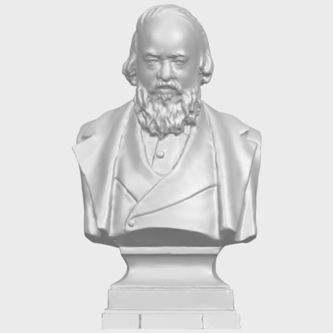 05_TDA0621_Sculpture_of_a_head_of_man_03A01.png Télécharger fichier STL gratuit Sculpture d'une tête d'homme 03 • Plan pour impression 3D, GeorgesNikkei