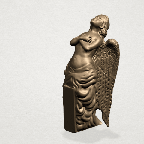 Angel (iii) A02.png Download free STL file Angel 03 • 3D printable object, GeorgesNikkei