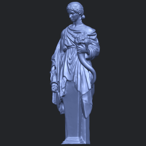 05_TDA0261_Sculpture_of_a_girlB02.png Download free STL file Sculpture of a girl • 3D printable model, GeorgesNikkei