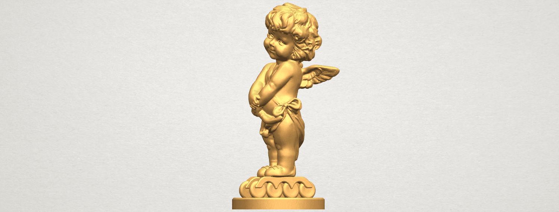 TDA0479 Angel Baby 02 A02.png Télécharger fichier STL gratuit Bébé Ange 02 • Plan pour imprimante 3D, GeorgesNikkei