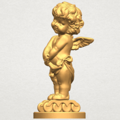 TDA0479 Angel Baby 02 A02.png Download free STL file Angel Baby 02 • 3D printer template, GeorgesNikkei