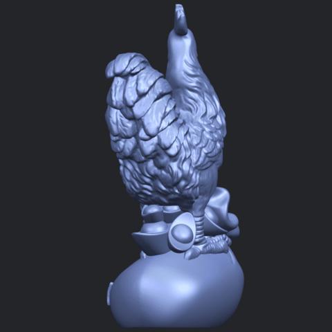 08_TDA0321_CockB05.png Télécharger fichier STL gratuit Coq 01 • Design pour impression 3D, GeorgesNikkei