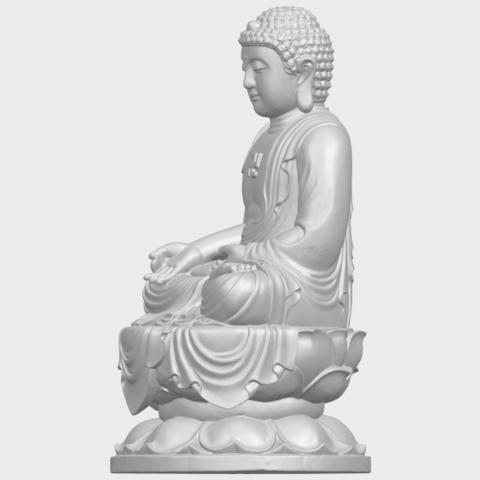 01_TDA0174_Gautama_Buddha_(ii)__88mmA03.png Download free STL file Gautama Buddha 02 • 3D print template, GeorgesNikkei