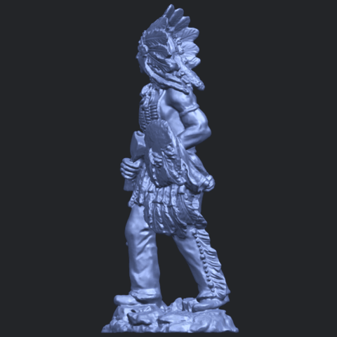 13_TDA0240_Red_IndianB03.png Download free STL file Red Indian • 3D print template, GeorgesNikkei