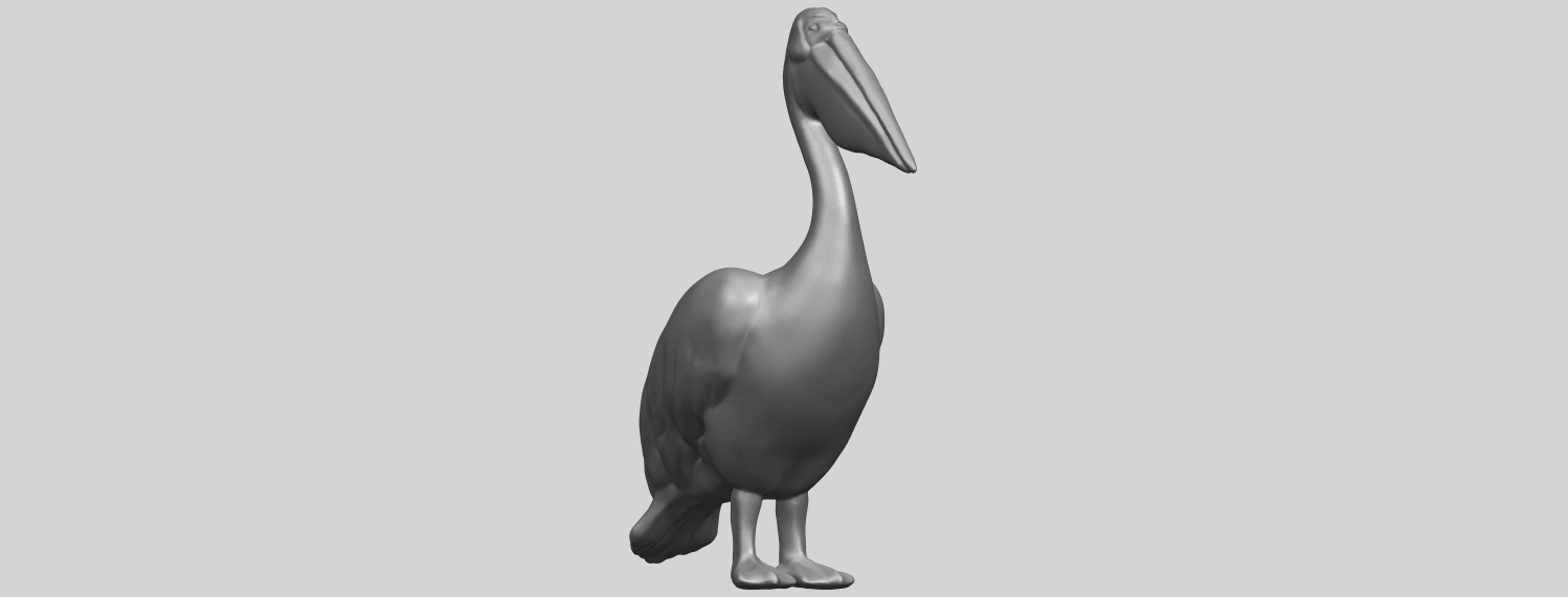 02_TDA0596_PelicanA08.png Download free STL file Pelican • 3D print model, GeorgesNikkei