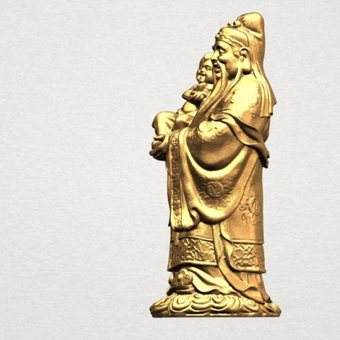 Fook (Fook Look Sao) 80mm - B02.png Download free STL file Fook (Fook Look Sao) • 3D printer template, GeorgesNikkei