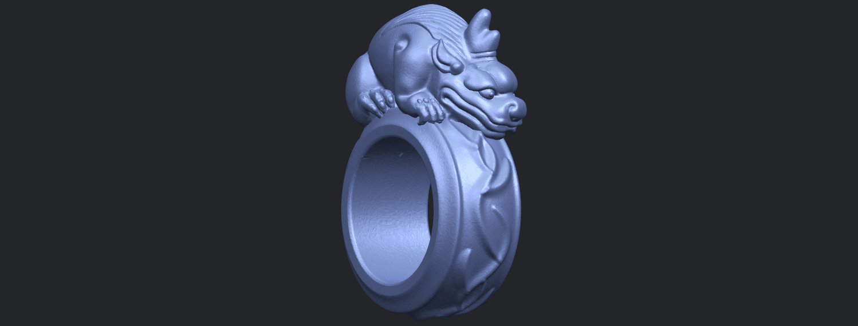 07_TDA0504_Pi_Xiu_RingB08.png Télécharger fichier STL gratuit Bague Pi Xiu Ring • Modèle à imprimer en 3D, GeorgesNikkei