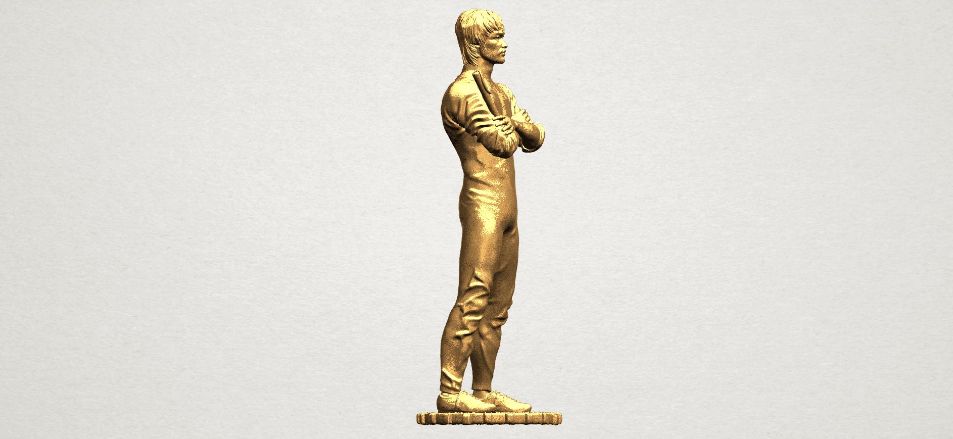 Bruce Lee A07.png Download free STL file Bruce Lee • 3D printing design, GeorgesNikkei
