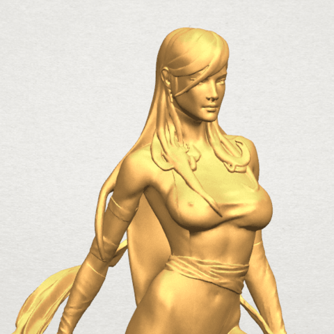 TDA0476 Beautiful Girl 10 A08.png Download free STL file Beautiful Girl 10 • 3D printable design, GeorgesNikkei
