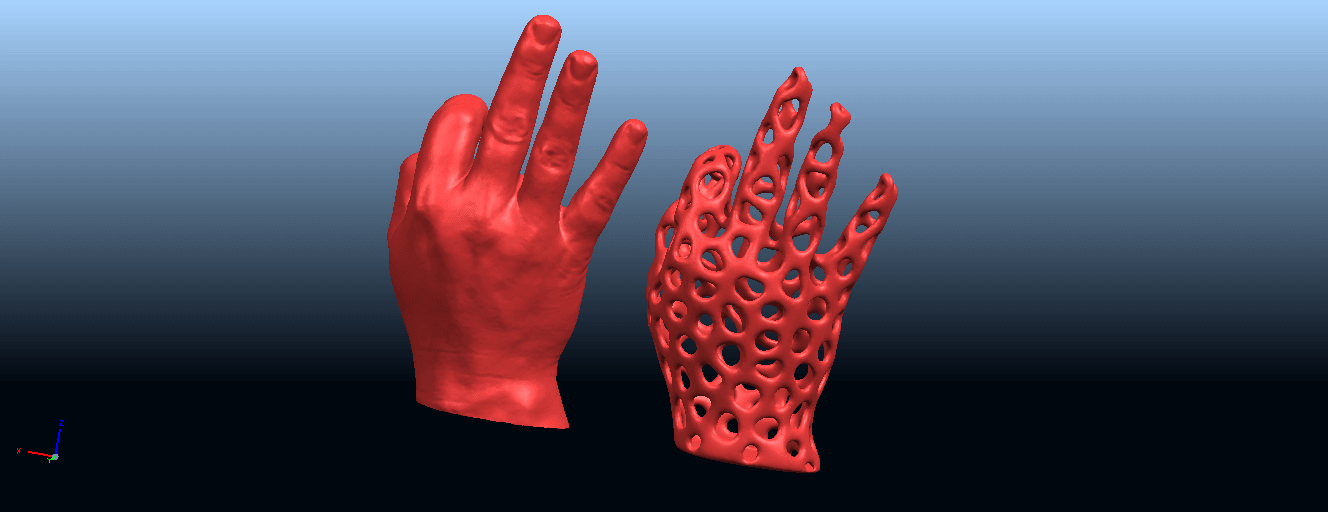 B03.png Download free STL file Voronoi Hand • Object to 3D print, GeorgesNikkei
