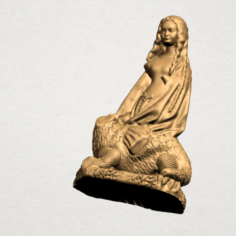 Saint Margaret A10.png Download free STL file Saint Margaret  • Template to 3D print, GeorgesNikkei