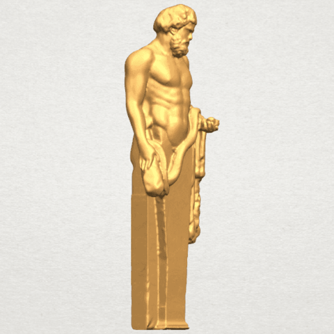 TDA0466 Sculpture of a man 02 A06.png Download free STL file Sculpture of a man 03 • 3D print model, GeorgesNikkei