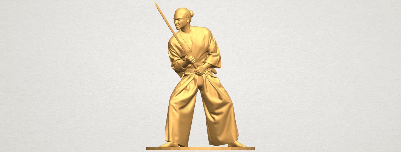 TDA0544 Japanese Warrior A01 ex400.png Download free STL file Japanese Warrior • 3D printer model, GeorgesNikkei