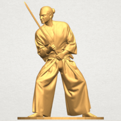 Free stl file Japanese Warrior, GeorgesNikkei
