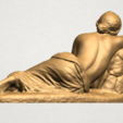 Naked Girl - Lying on Side - A05.png Download free STL file Naked Girl - Lying on Side • 3D printer template, GeorgesNikkei