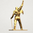 Statue of Freddie Mercury A05.png Download free STL file Statue of Freddie Mercury • 3D printable template, GeorgesNikkei