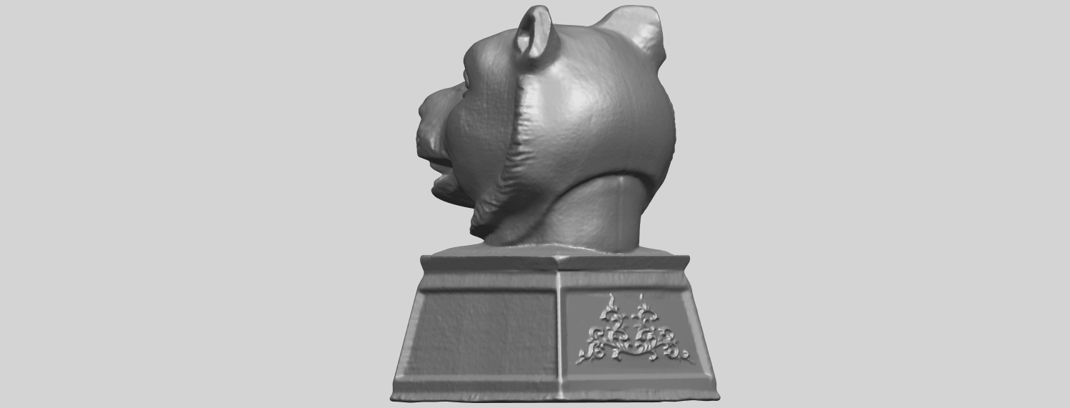 20_TDA0510_Chinese_Horoscope_of_Tiger_02A05.png Download free STL file Chinese Horoscope of Tiger 02 • 3D print object, GeorgesNikkei
