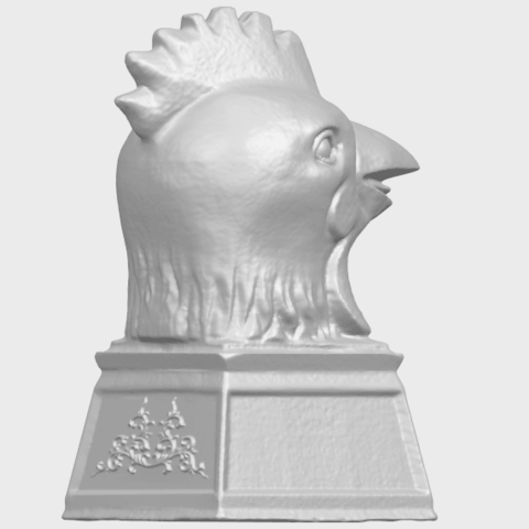 18_TDA0517_Chinese_Horoscope_of_Rooster_02A08.png Download free STL file Chinese Horoscope of Rooster 02 • 3D printable object, GeorgesNikkei