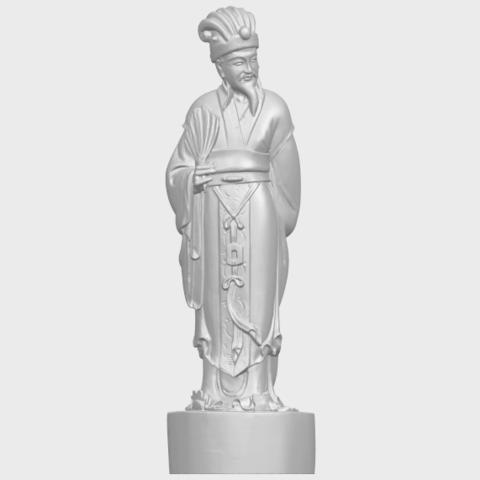 19_TDA0342_Zhu_Ge_Liang_Kong_MingA01.png Télécharger fichier STL gratuit Zhu Ge Liang Kong Ming Kong Ming • Modèle imprimable en 3D, GeorgesNikkei