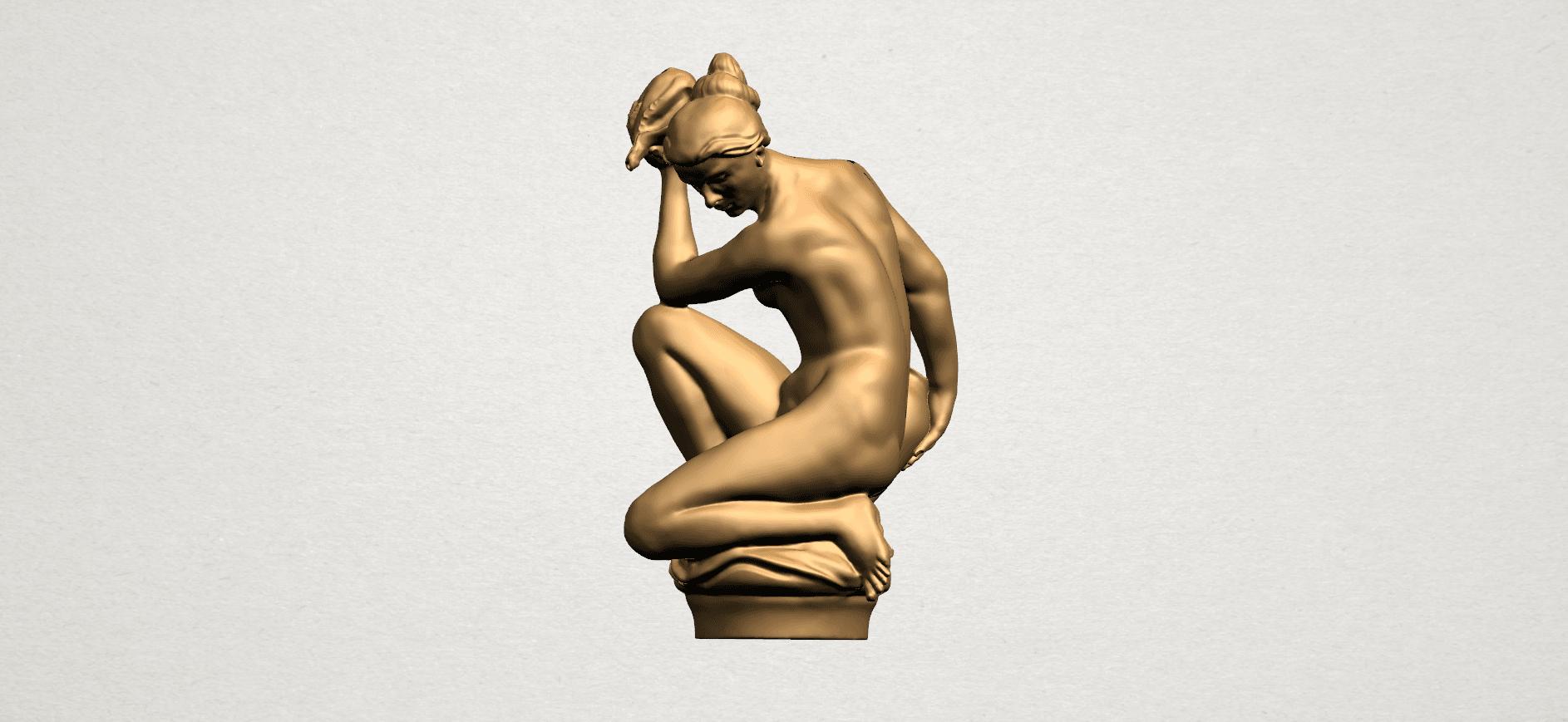 Naked Girl - With Pot - A04.png Télécharger fichier STL gratuit Fille Nue - Avec Pot • Modèle à imprimer en 3D, GeorgesNikkei