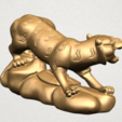 Chinese Horoscope03-A04.png Download free STL file Chinese Horoscope 03 Tiger • 3D printer template, GeorgesNikkei