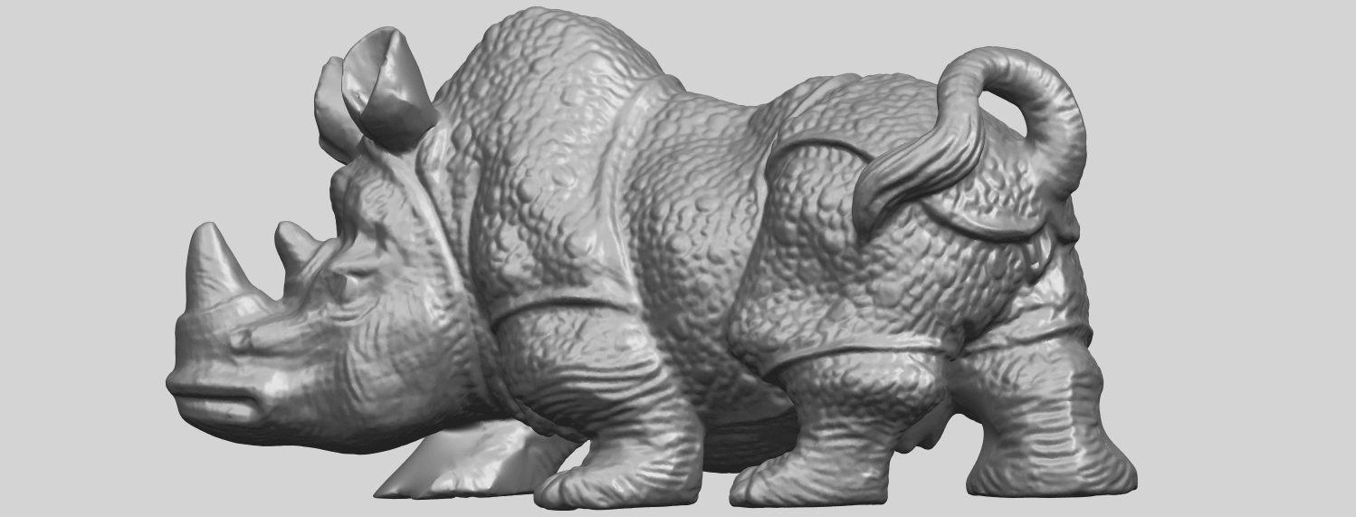 02_TDA0312_Rhinoceros_iv_FemaleA02.png Download free STL file  Rhinoceros 05 Female • 3D print object, GeorgesNikkei