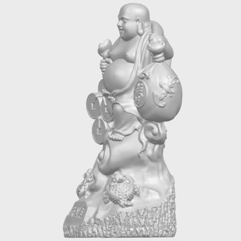 09_TDA0329_Metteyya_Buddha_09A03.png Télécharger fichier STL gratuit Bouddha Metteyya 09 • Modèle imprimable en 3D, GeorgesNikkei