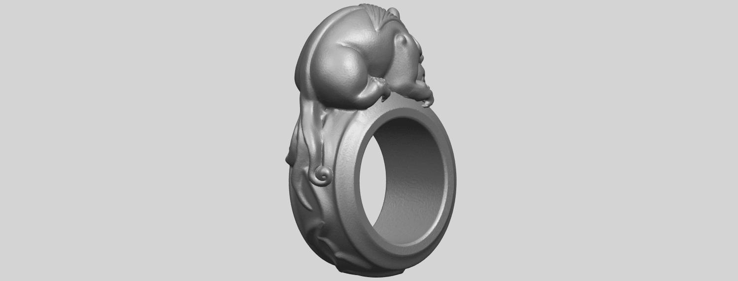 07_TDA0504_Pi_Xiu_RingA05.png Télécharger fichier STL gratuit Bague Pi Xiu Ring • Modèle à imprimer en 3D, GeorgesNikkei