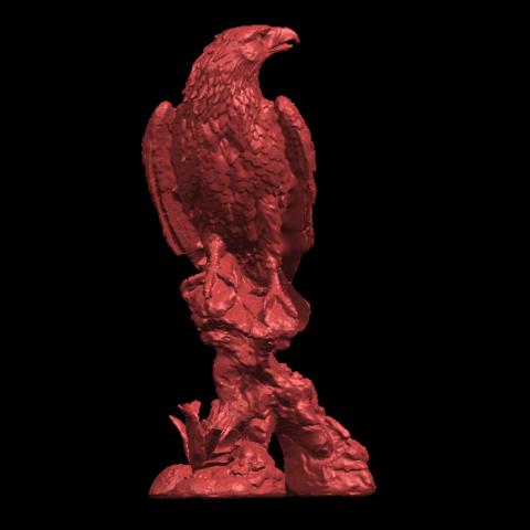 01.png Download free STL file Eagle 01 • 3D printing design, GeorgesNikkei