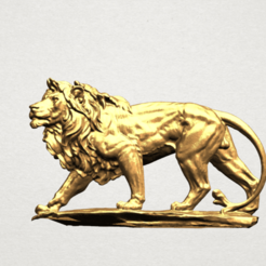 Download free 3D model Lion 02, GeorgesNikkei