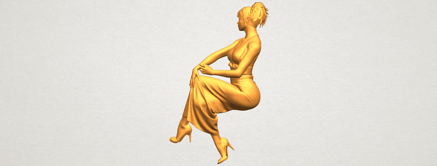 A07.png Download free STL file Naked Girl H09 • 3D printing model, GeorgesNikkei