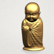 Little Monk 80mm - A07.png Download free STL file Little Monk 01 • 3D printable design, GeorgesNikkei